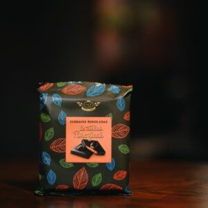 Dark Chocolate with Crispy Florentines 108 g