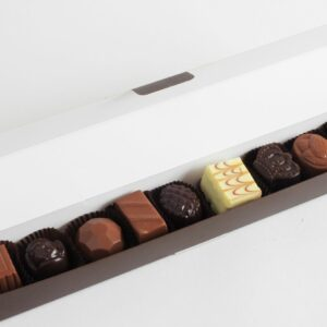 "Box of various chocolates ""Vilnius"" 9 pcs. 130 g"
