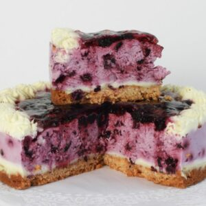 Curd cake with blueberries 1 pc