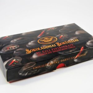 Chocolate towers with chili peppers 200 g