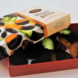 Dried fruits in chocolate 220 g